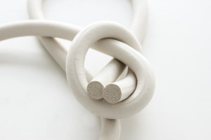 Rubber sponge cord