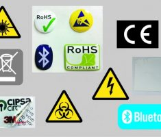 IDENTIFICATION AND INDUSTRIAL LABELS