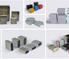 Cajas plástico standart