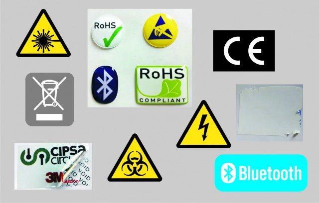 标识和工业标签